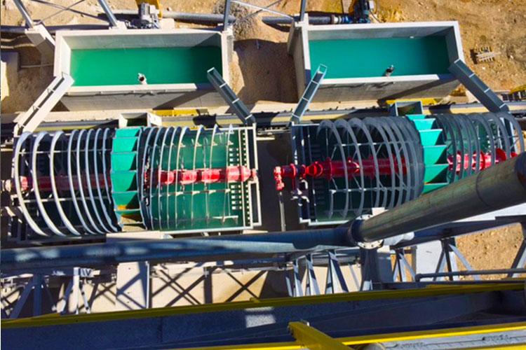 Bucket Wheels Dewatering Equipment