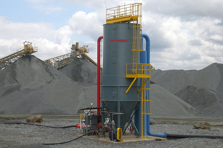 Thickeners - Clarifiers For Aggregate Processing