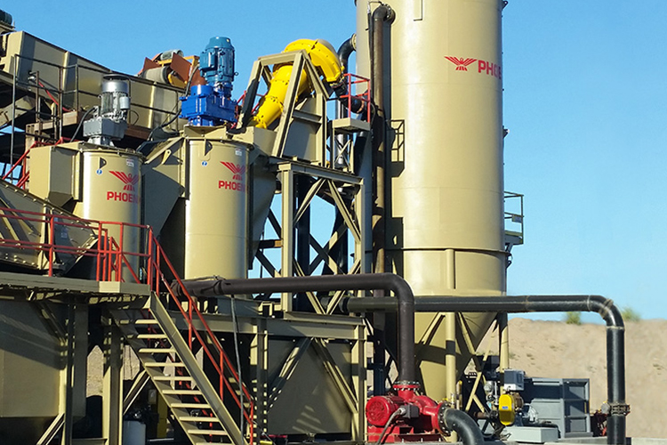 Thickeners for Sand Processing