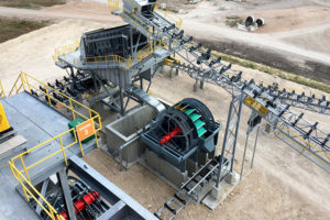 Bucket Wheels Sand Wash Plant