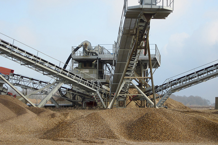 Sand Modules For Aggregate Washing