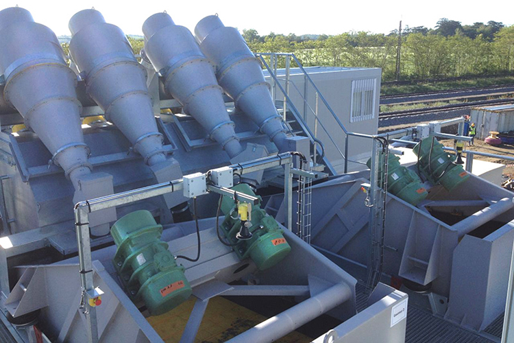 Sand Modules Dewatering Screen
