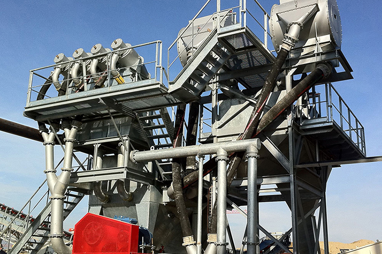 Sand Washing Equipment Modules