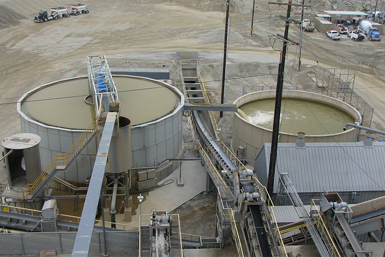High Rate Thickeners For Wash Plants