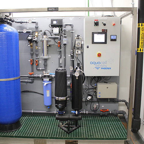 RW Series Rainwater Recycling Installation