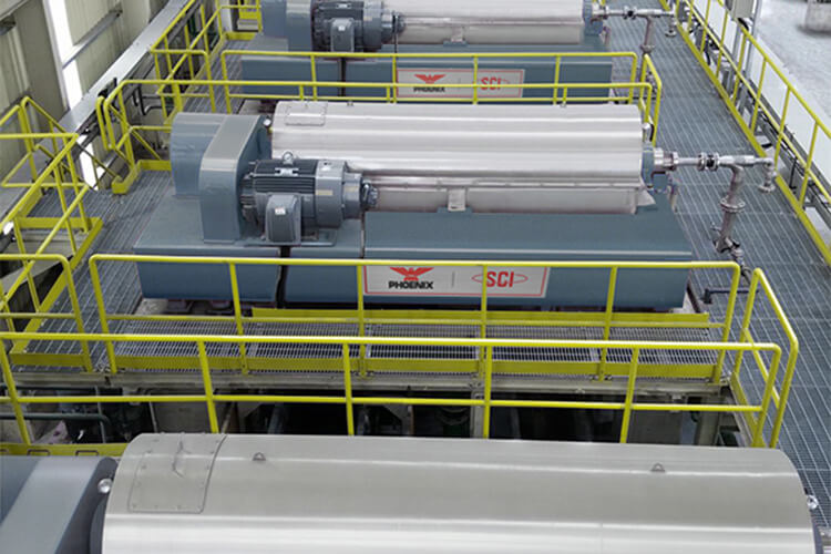 Industrial Centrifuge Dewatering