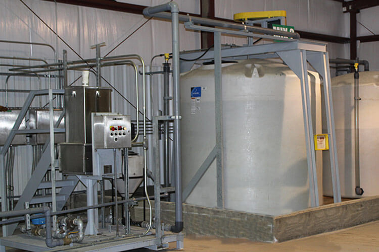 Dewatering - Thickening Chemical Preparation