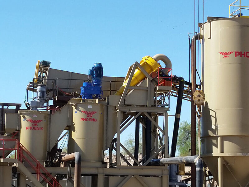 Slurry Mixing - Multiple Size Cells