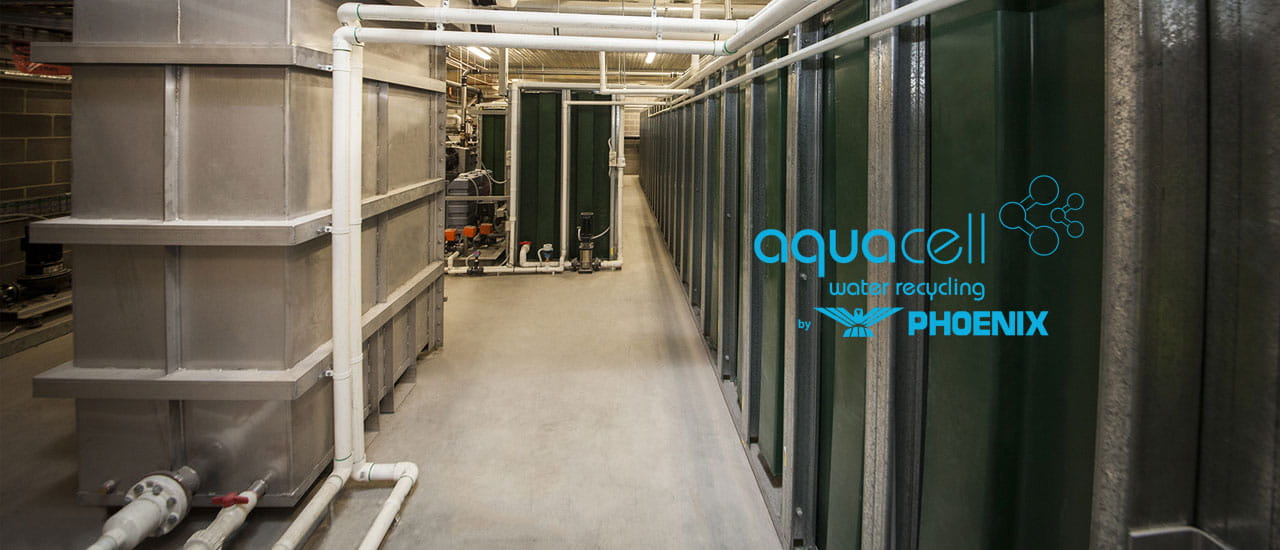 Aquacell commercial water recycling systems
