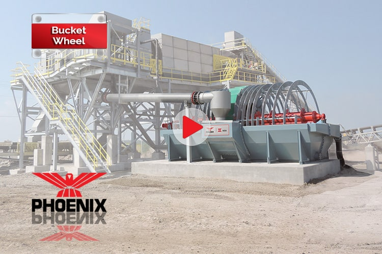 PHOENIX / KISA Bucket Wheel Video