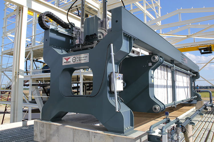 Filter Presses Feature Rugged Steel Frames