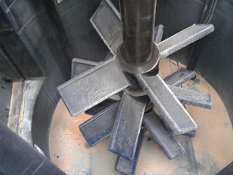 Custom Designed Turbines for Severe Scrubbing