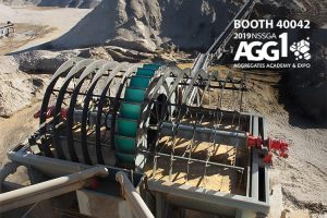 Dewatering Bucket Wheel at AGG1